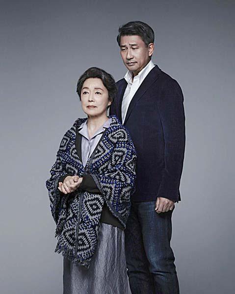 舞台「檀」で共演する中井貴一と宮本信子(提供写真)