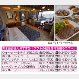 高級リゾートホテルを超えた(C)日刊ゲンダイ