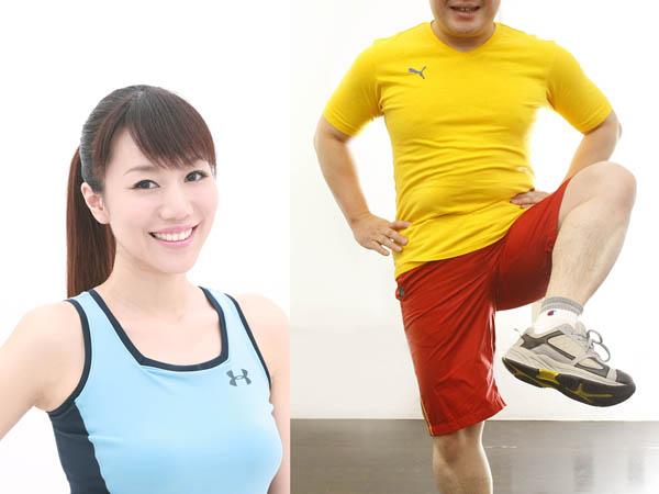 美人ダイエットコーチのEICOさん(左)/(C)日刊ゲンダイ
