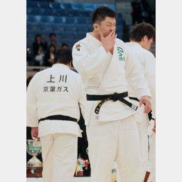 準優勝で上川に敗れるもリオ五輪代表に決まった原沢(C)日刊ゲンダイ