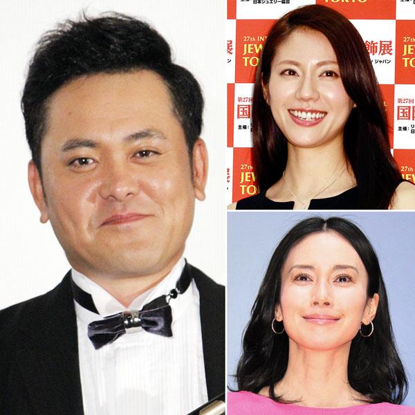 有田哲平、松下奈緒(右上)、中谷美紀(右下)(C)日刊ゲンダイ