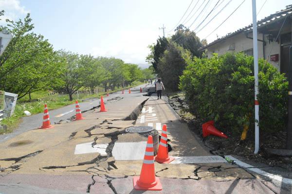 5日も熊本で震度4が相次いだ(C)日刊ゲンダイ