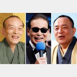 引退する桂歌丸と後任に浮上するタモリ、三遊亭小遊三