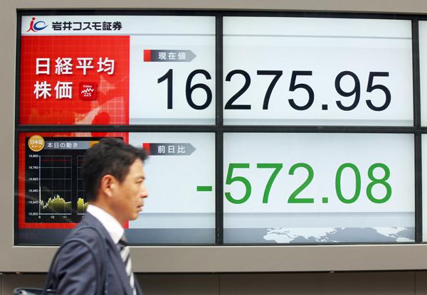 日経平均株価(C)日刊ゲンダイ