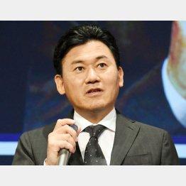 早くも名前が飛び出した楽天の三木谷浩史会長兼社長
