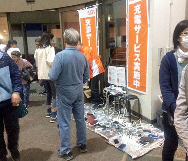 益城町の避難所(C)日刊ゲンダイ