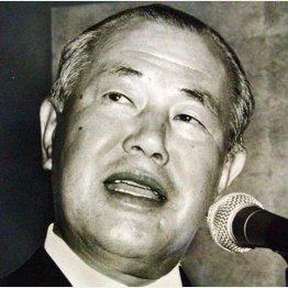 故・田中角栄元首相(C)日刊ゲンダイ