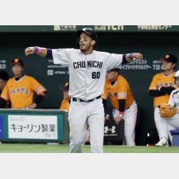 絶好調のナニータ(C)日刊ゲンダイ