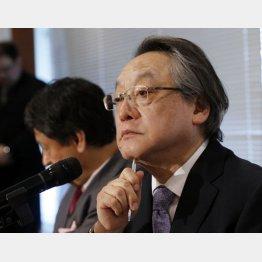参院選を戦うと決起宣言した小林節氏(C)日刊ゲンダイ