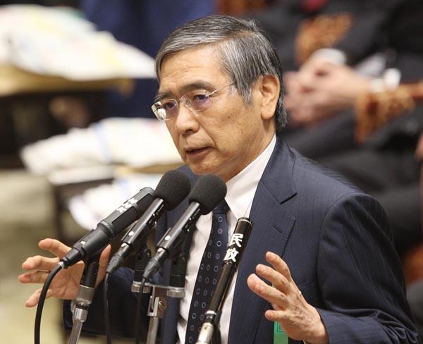 新ETF購入で株価下支え(日銀の黒田総裁)/(C)日刊ゲンダイ