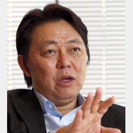 ネクストの井上高志社長(C)日刊ゲンダイ