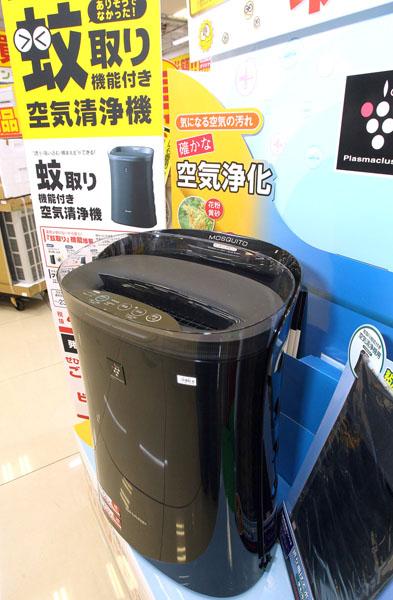 加湿空気洗浄機/空気洗浄機「蚊取空清」FU-GK50-B/(C)日刊ゲンダイ
