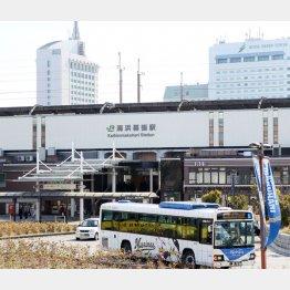 海浜幕張駅周辺は大混雑になる可能性も(C)日刊ゲンダイ