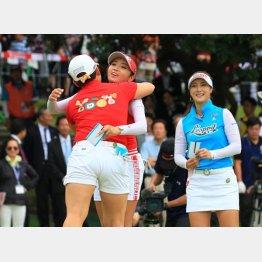 笑いが絶えなかった最終組の韓国人プロ3人