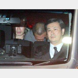 逮捕された時の清原被告(C)日刊ゲンダイ