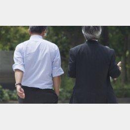 サラリーマンは大変だ(C)日刊ゲンダイ