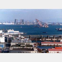 山口組は神戸の復興と共に大きくなった(写真は神戸港)(C)日刊ゲンダイ