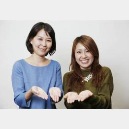 ゲンナイ製薬のカヨさん(左)とマスミさん/(C)日刊ゲンダイ