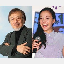 """""""格さん""""こと横内正(左)と土屋アンナ"""