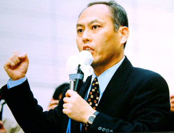 99年の都知事選、この頃から金を無心(C)日刊ゲンダイ
