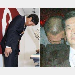 週刊文春の取材で悪事が発覚した高木京介元選手(左)と清原和博被告(C)日刊ゲンダイ
