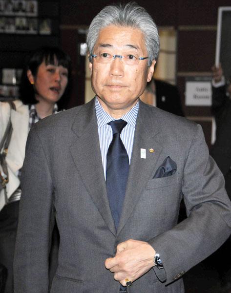 JOC竹田会長「特別に高額というわけではない」と(C)日刊ゲンダイ