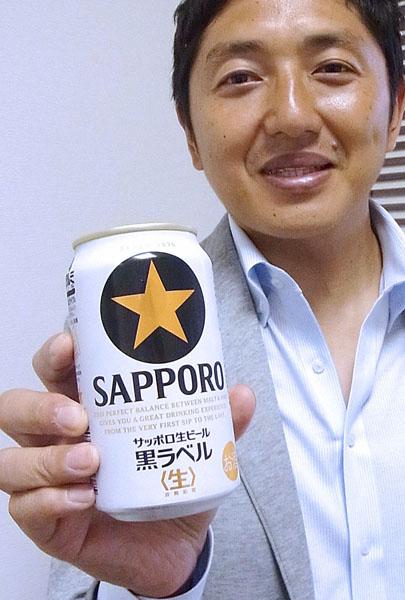 「ビールのうまさが分かってきたら飲んでほしい」(C)日刊ゲンダイ