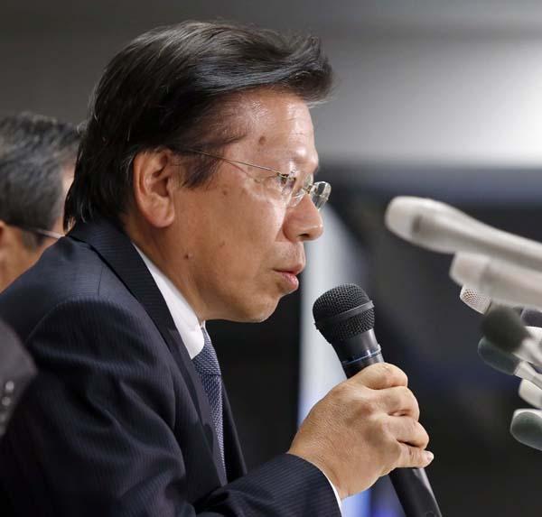 相川社長は辞任を決めた(C)日刊ゲンダイ