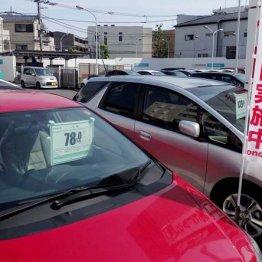 【中古車】今が底値、車種によっては10%以上の値引き