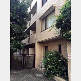 福山のマンションから目と鼻の先にある宮本容疑者の自宅マンション