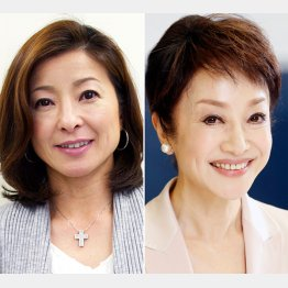 おばさんのハートをガッチリ?(左/雪野智世、右/南美希子)/(C)日刊ゲンダイ