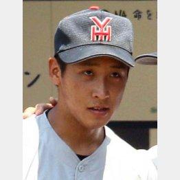 横浜高校の藤平は150キロの直球が武器(C)日刊ゲンダイ