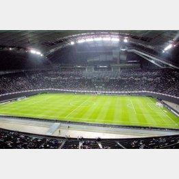 札幌ドームではサッカーの1次リーグが行われる予定(C)日刊ゲンダイ