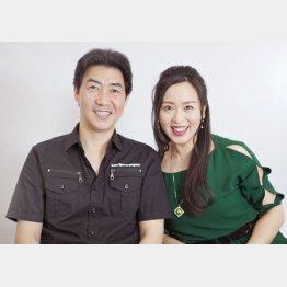 黒木じゅんと妻の中尾美穂(C)日刊ゲンダイ
