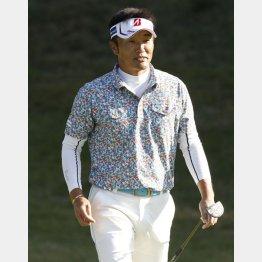 初日トップタイの宮本勝昌も43歳