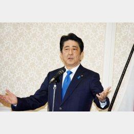 """ふかしているのはエンジンではなく""""大ボラ""""(C)日刊ゲンダイ"""