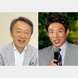 """今年の""""理想の上司""""は血色もよく目もキラキラ(C)日刊ゲンダイ"""