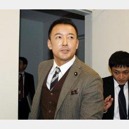 「生活の党と山本太郎となかまたち」の山本太郎氏(C)日刊ゲンダイ