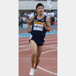 桐生は日本学生陸上競技個人選手権の100mに出場予定(C)日刊ゲンダイ