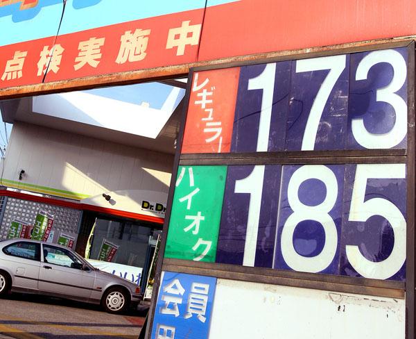14年には170円を超えていたガソリン価格(C)日刊ゲンダイ