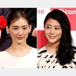 綾瀬はるか(左)と高畑充希(C)日刊ゲンダイ