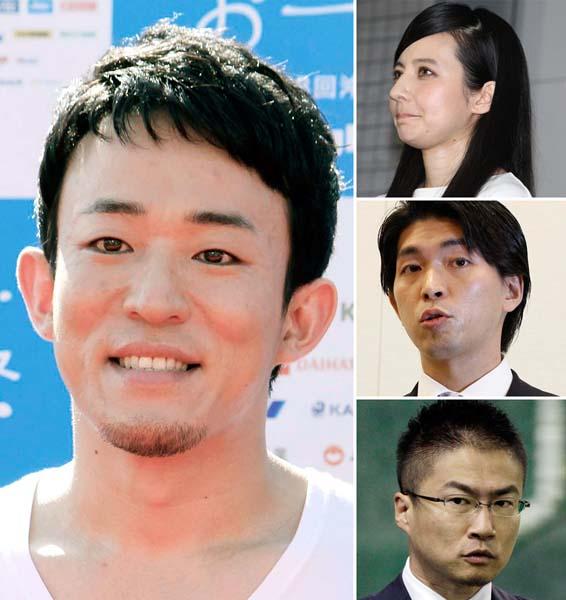 """4人とも2016年に""""ゲス不倫""""が発覚(C)日刊ゲンダイ"""