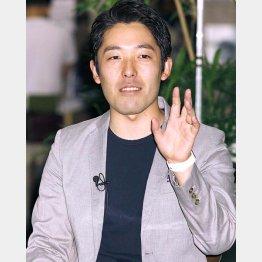 クリーン&イクメンをアピール(C)日刊ゲンダイ