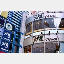 国内外に436店舗(C)日刊ゲンダイ