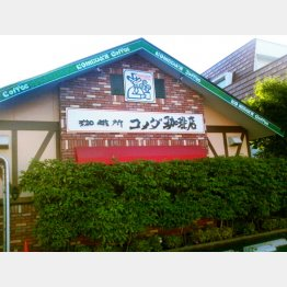 高収益で知られるコメダ珈琲店(C)日刊ゲンダイ