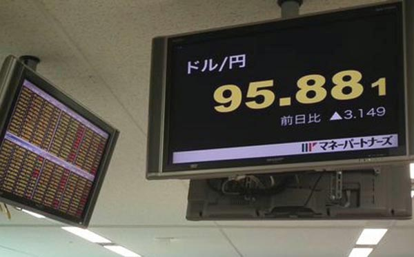 1ドル=95円、日経平均1万3000円も覚悟(C)日刊ゲンダイ