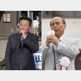 4選目指す福山(左)と二之湯智/(提供写真)