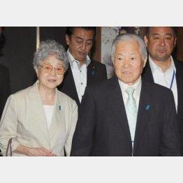 横田夫妻も80代に(C)日刊ゲンダイ