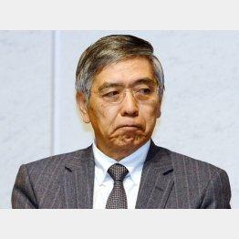 黒田バズーカは空砲だった…(C)日刊ゲンダイ