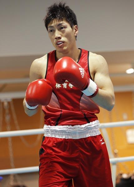 リオ五輪出場を決めたライト級の成松大輔(C)安藤慶一/フォート・キシモト